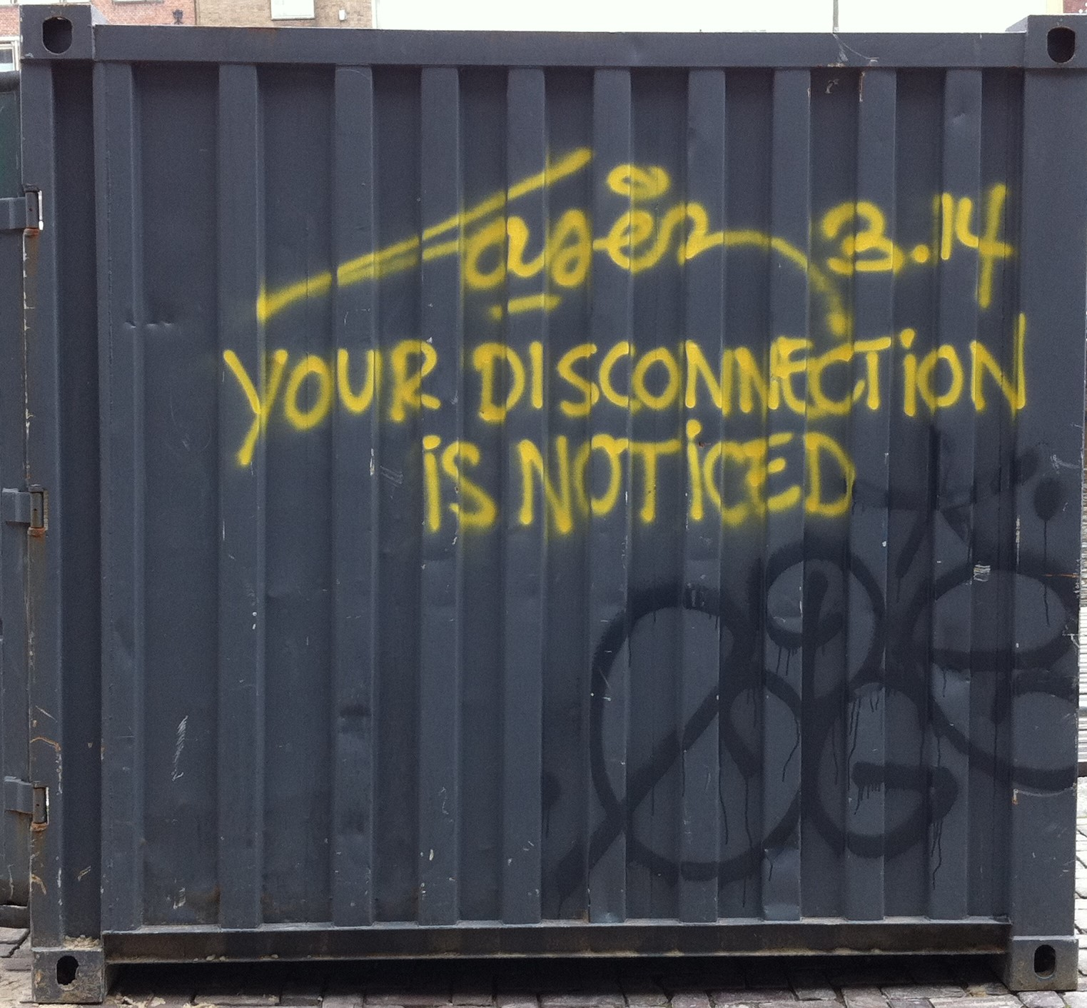 Your disconnection is noticed (2)
